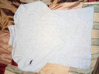 Jersey basico en gris cuello alto