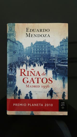Libro RIÑA DE GATOS MADRID 1936 de Eduardo Mendoza