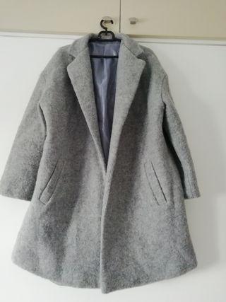 Chaqueta oversize gris