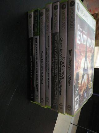 vendo juego de Xbox 360 saga Tom clancy's