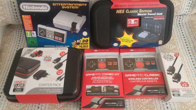 Consola Nes Classic Mini 30 Juegos Y Accesorios De Segunda Mano En
