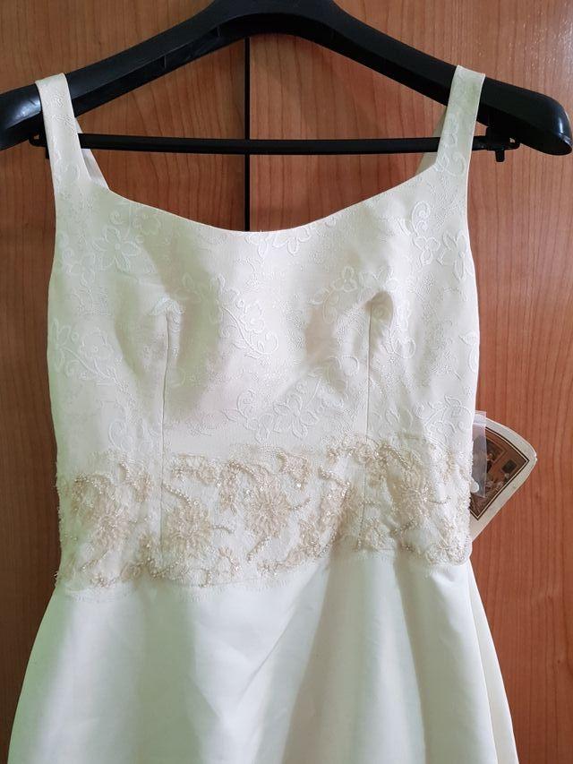 vestido de novia isabel aguado nuevo de segunda mano por 290 € en
