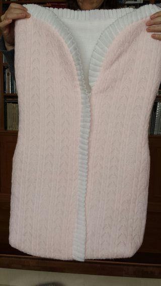 Saco de lana bebes