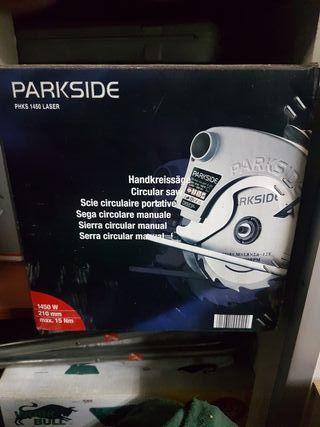 Sierra circular manual Parkside PHKS 1450 laser