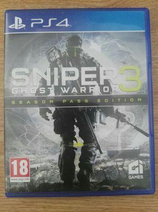 juego ps4 Sniper 3