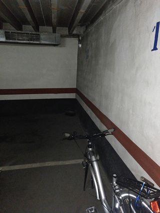 Garaje de bicicleta en alquiler