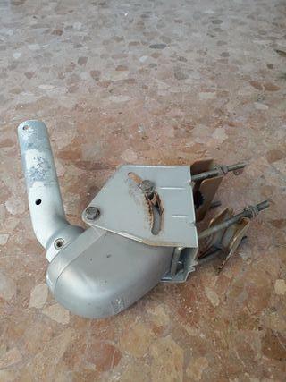 Antena parabólica y motor