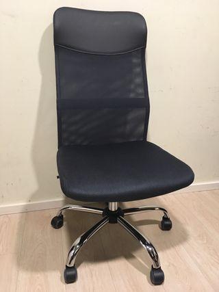 Sillas de escritorio sin ruedas de segunda mano en wallapop for Silla escritorio sin ruedas