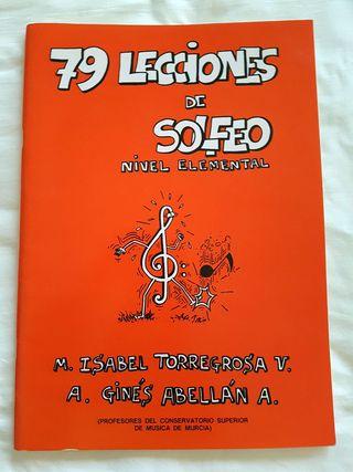 79 LECCIONES DE SOLFEO NIVEL ELEMENTAL