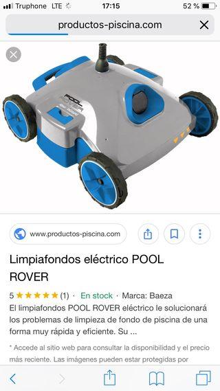 Robot limpiafondos de segunda mano en wallapop for Robot piscina segunda mano