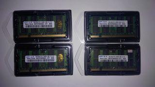 MEMORIA RAM 2 GB DDR2-800 SAMSUNG PORTATIL