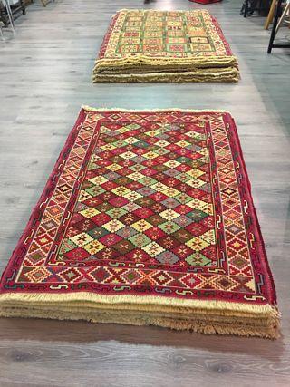 Alfombra kilim Persa original lana artesanal