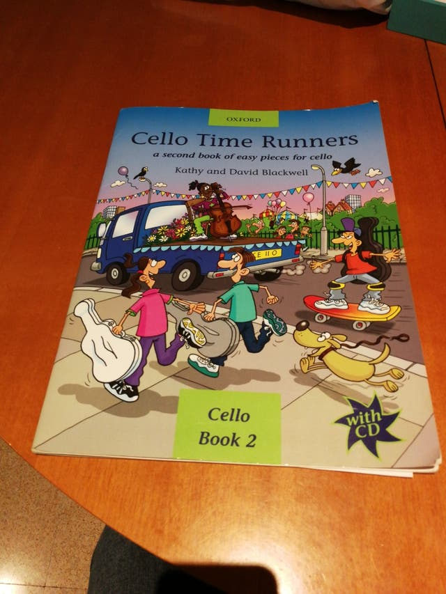 cello time runners cd a second book of easy pieces for cello