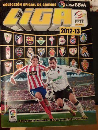 álbum cromos fútbol Liga este 2012/2013