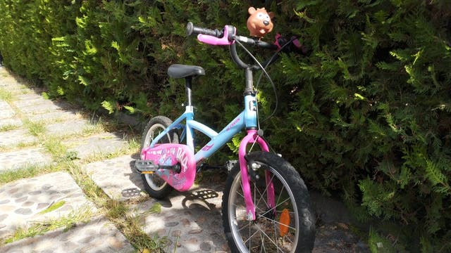 bicicleta de niña niño
