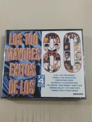 LOS 100 MAYORES ÉXITOS DE LOS 80