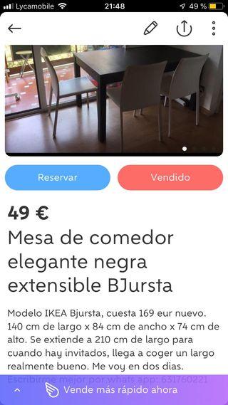 Ikea bjrusta 169 eur nueva
