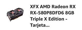 Tarjeta gráfica XFX AMD RADEON RX