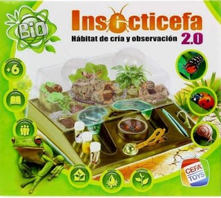 """SET INFANTIL BIOLOGÍA """"INSECTICEFA 2.0"""""""