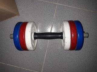 pesa clásica de los años 80. Peso 7 kg