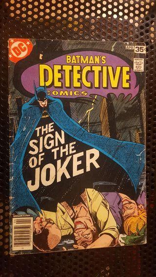 Comic - Batman Detective Comics Vol 1 #476