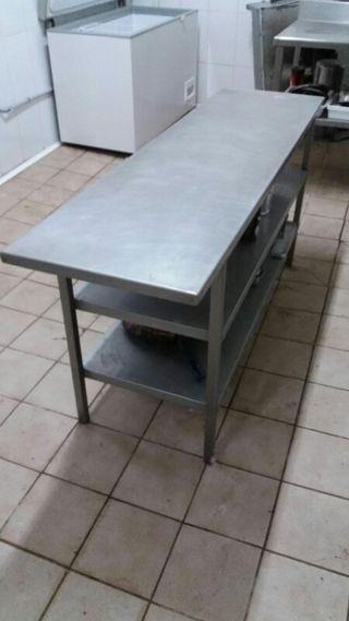 mesa acero inox