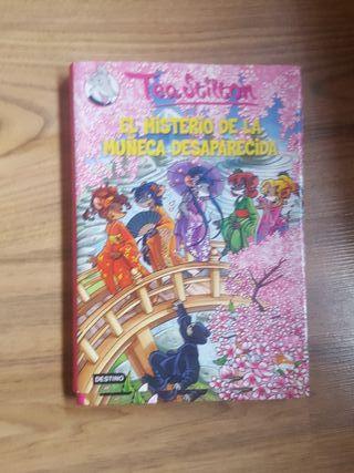 Libro de Tea Stilton. Nuevo.