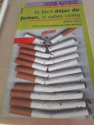 Libro dejar de fumar.