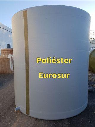 Depósitos de Poliéster 10.000 litros