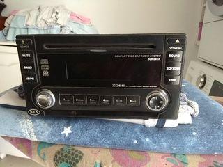 Radio CD 2 DIN KIA