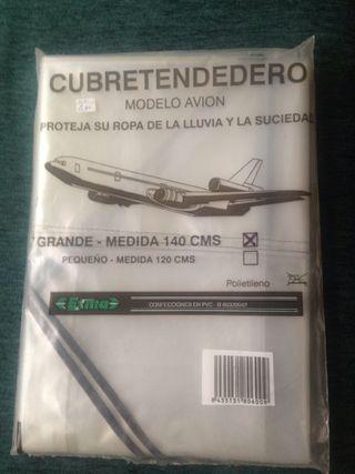 Cubretendedero modelo avión