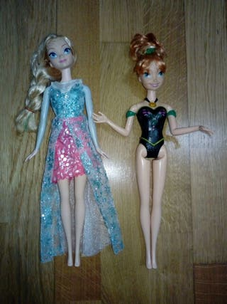 Elsa y Anna. Frozen