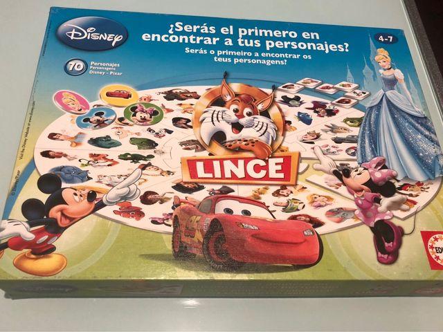 Juego De Mesa Lince Disney De Segunda Mano Por 12 En Barcelona En