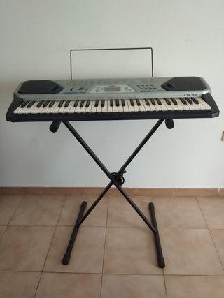 Se vende teclado. Casio CTK-491