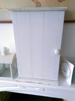 French Style Shabby Chic Bathroom Cupboard