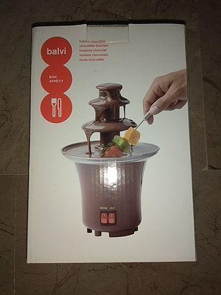 Fuente chocolate nueva