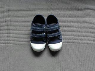 Zapatillas tela niño