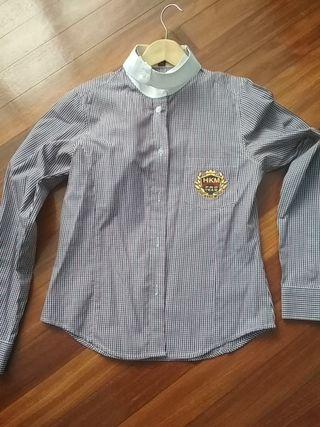 camisa de hípica de chica