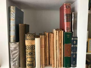 Lote libros antiguos y actuales diversas temáticas