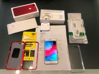 Iphone 7 Plus 128gb Red LIBRE con factura PERFECTO
