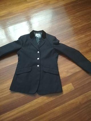 chaqueta de hípica chica