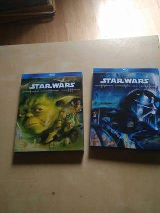 Stars Wars Blue Ray