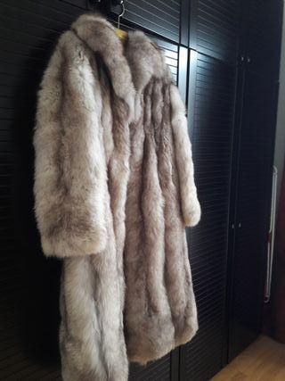 abrigo de piel canadiense