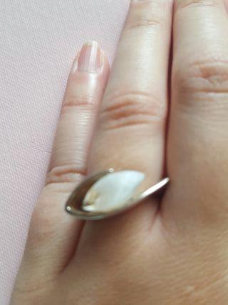 anillo sortijas plata