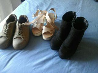 zapatos, botines zapatillas