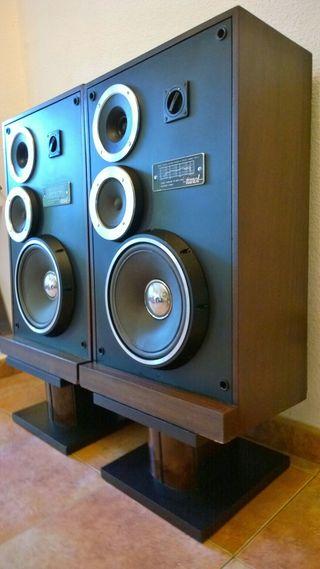 Unitra Tonsil ZG60 C115 Altavoces Vintage