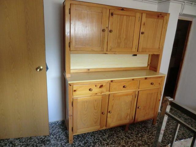 Mueble cocina rústico de segunda mano por 95 € en Valencia en WALLAPOP