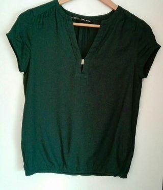 Blusa Zara T S MUY BUEN ESTADO, de 25€