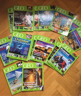 Revistas Geo lote 16 revistas
