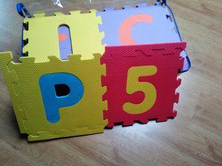 Suelo infantil gomaespuma puzzle abecedario